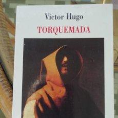 Libros: TORQUEMADA DE VÍCTOR HUGO EN FRANCÉS TEATRO. Lote 222432245