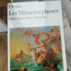 Libros: OVIDE LA MÉTAMORPHOSE EN FRANCÉS. Lote 223357325