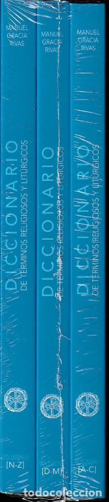 Libros: DICCIONARIO DE TÉRMINOS RELIGIOSOS Y LITÚRGICOS 3 VOLS. (M. GRACIA RIVAS) I.F.C. 2020 - Foto 2 - 224132401