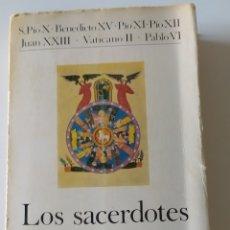 """Libros: LIBRO """" LOS SACERDOTES"""" AÑO 1971.EN BUEN ESTADO ENVÍO GRATIS POR CORREO ORDINARIO. Lote 225138212"""