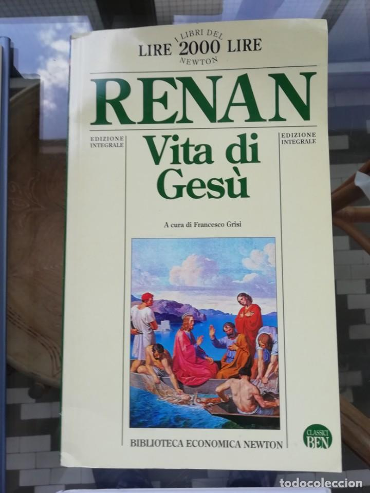 VITA DI GESÙ EN ITALIANO DE RENAN (Libros Nuevos - Humanidades - Religión)