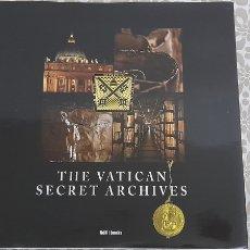 Libros: THE VATICAN SECRET ARCHIVES VDH | BOOKS 2009. Lote 234140030