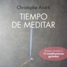 Libros: TIEMPO DE MEDITAR. Lote 235687810