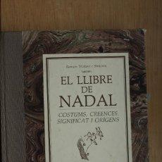 Libros: LLIBRE DE NADAL. Lote 235970725