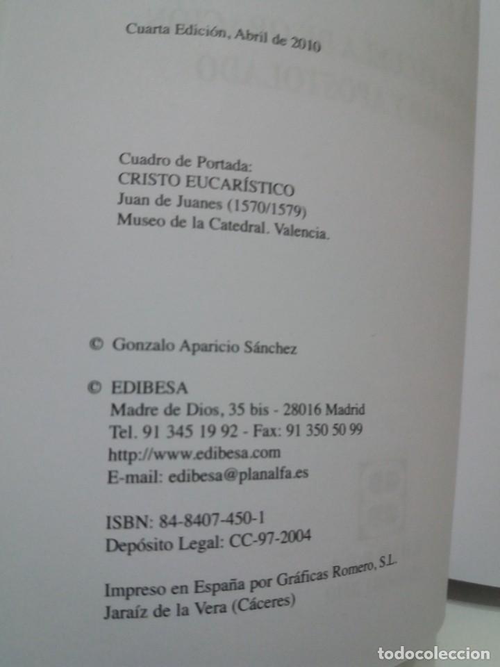 Libros: ESTUPENDO LIBRO LA EUCARISTIA LA MEJOR ESCUELA DE ORACIÓN, SANTIDAD Y APOSTOLADO - Foto 5 - 236060145
