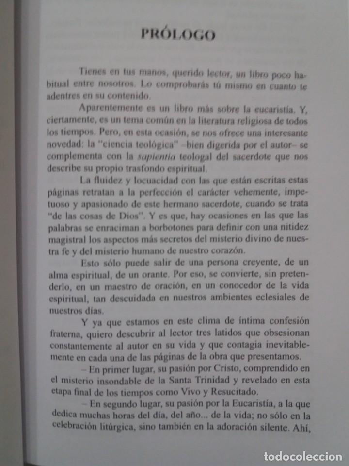 Libros: ESTUPENDO LIBRO LA EUCARISTIA LA MEJOR ESCUELA DE ORACIÓN, SANTIDAD Y APOSTOLADO - Foto 7 - 236060145