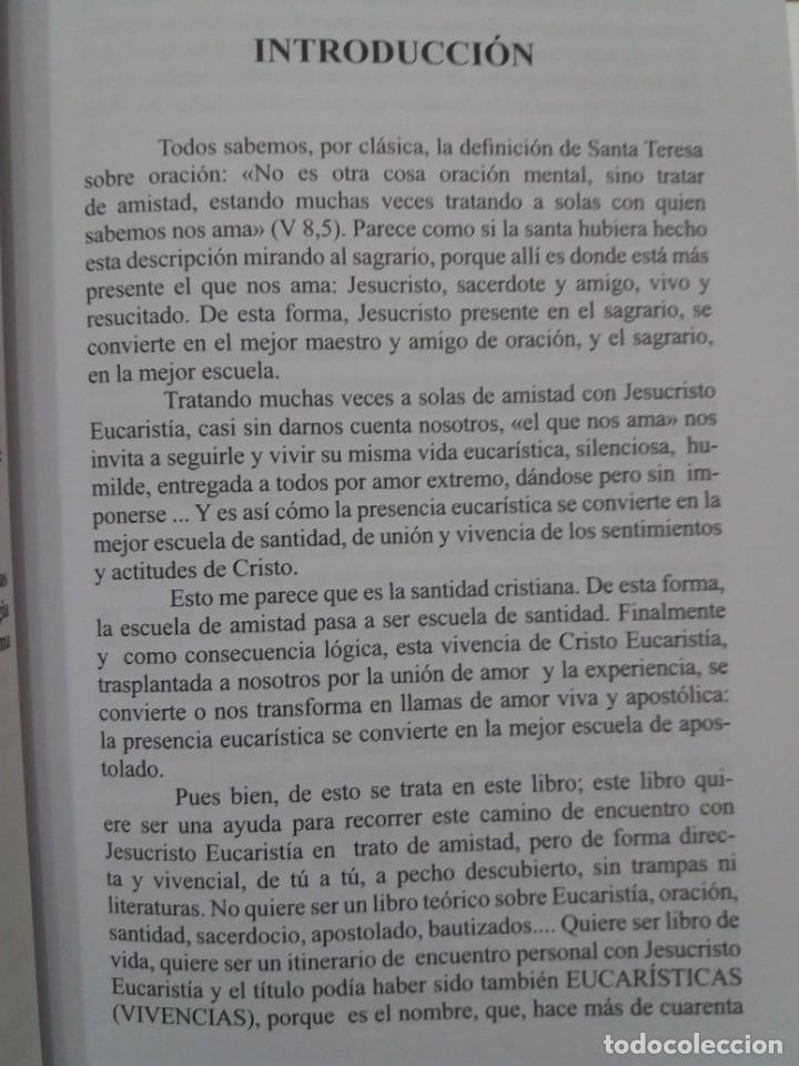 Libros: ESTUPENDO LIBRO LA EUCARISTIA LA MEJOR ESCUELA DE ORACIÓN, SANTIDAD Y APOSTOLADO - Foto 8 - 236060145