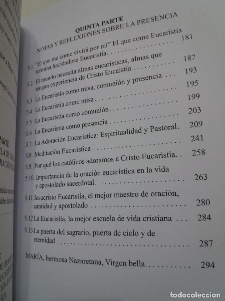 Libros: ESTUPENDO LIBRO LA EUCARISTIA LA MEJOR ESCUELA DE ORACIÓN, SANTIDAD Y APOSTOLADO - Foto 13 - 236060145
