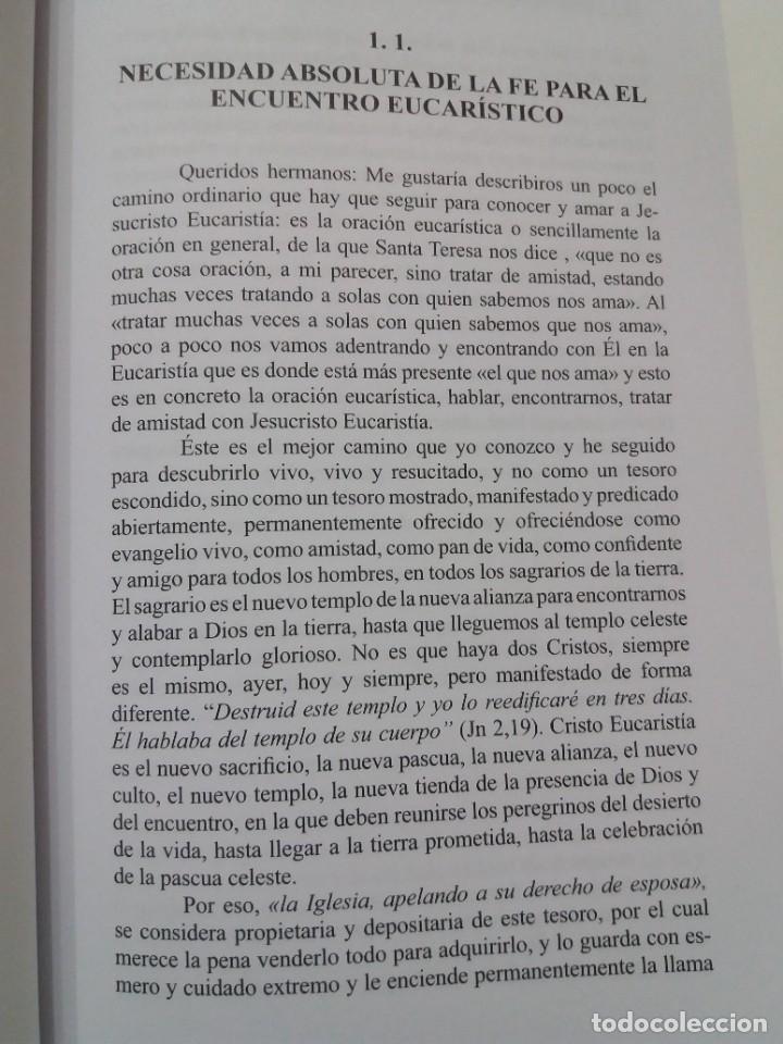 Libros: ESTUPENDO LIBRO LA EUCARISTIA LA MEJOR ESCUELA DE ORACIÓN, SANTIDAD Y APOSTOLADO - Foto 14 - 236060145