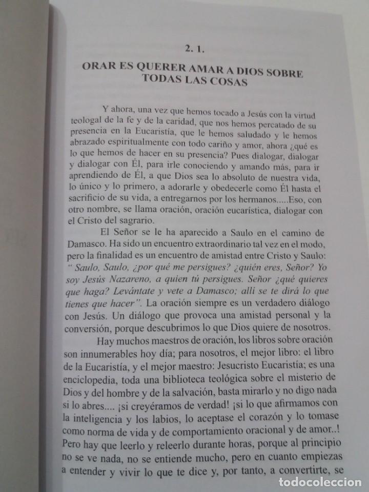 Libros: ESTUPENDO LIBRO LA EUCARISTIA LA MEJOR ESCUELA DE ORACIÓN, SANTIDAD Y APOSTOLADO - Foto 15 - 236060145