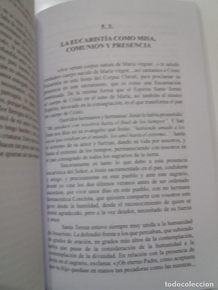 Libros: ESTUPENDO LIBRO LA EUCARISTIA LA MEJOR ESCUELA DE ORACIÓN, SANTIDAD Y APOSTOLADO - Foto 20 - 236060145