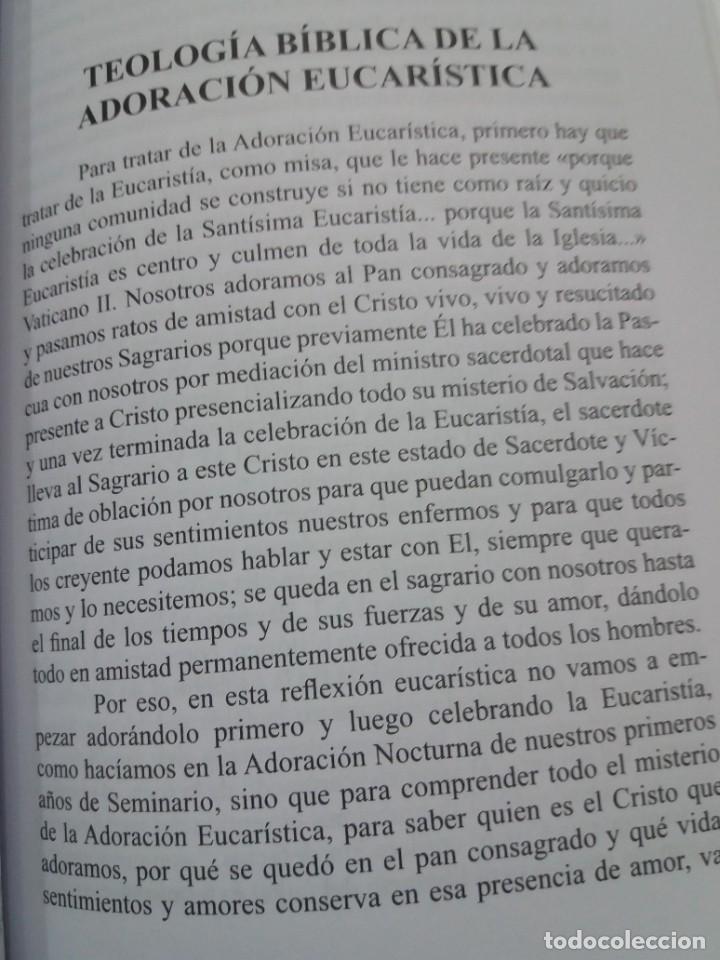 Libros: ESTUPENDO LIBRO LA EUCARISTIA LA MEJOR ESCUELA DE ORACIÓN, SANTIDAD Y APOSTOLADO - Foto 22 - 236060145