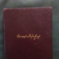 Libros: SANTA TERESA DE JESÚS , OBRAS COMPLETAS. Lote 236165705