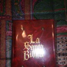 Libros: LA SANTA BIBLIA. EDICIÓN DE LUJO. ORTELLS.. Lote 239813695