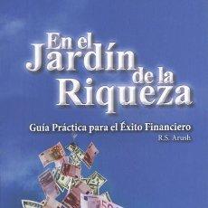 Libros: EN EL JARDÍN DE LA RIQUEZA- RABINO SHALOM ARUSH. Lote 240423015