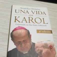 Libros: UNA VIDA CON KAROL DEL CARDENAL STANISLAO DZIWISZ. Lote 243917220