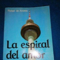Libros: LA ESPIRAL DEL AMOR, RAFAEL DE ANDRÉS, HOMILÍAS TELEVISADAS CICLO C, EDICIONES PAULINAS.. Lote 247226975