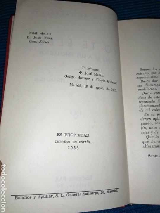 Libros: SALVADOR BLANCO PIÑAN, REGALO A SACERDOTE, YO TE ELEGÍ, PIO XII A SUS PREDILECTOS, 1956. - Foto 3 - 247390860