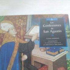 Libros: SAN AGUSTÍN. LAS CONFESIONES. TEXTOS ESCOGIDOS. GAIA EDICIONES. 2002.. Lote 248729240