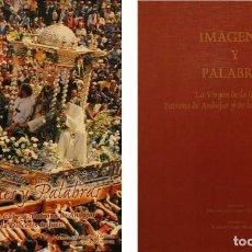 Libros: LA VIRGEN DE LA CABEZA, PATRONA DE ANDÚJAR Y DE LA DIOCESIS DE JAÉN. IMAGENES Y PALABRAS. Lote 267591484