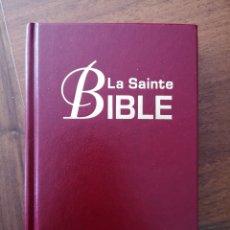 Libros: SANTA BIBLIA EN FRANCÉS VERSIÓN LOUIS SEGOND NUEVA. Lote 276578068