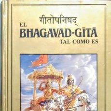 Livros: EL BHAGAVAD-GITA. TAL COMO ES. SWAMI PRABBUPADA (EDICION ILUSTRADA A COLOR.TAPAS DURAS). Lote 253195535