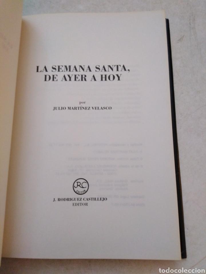 Libros: La Semana Santa de Sevilla, de ayer a hoy ( editorial castillejo ) - Foto 3 - 253569840