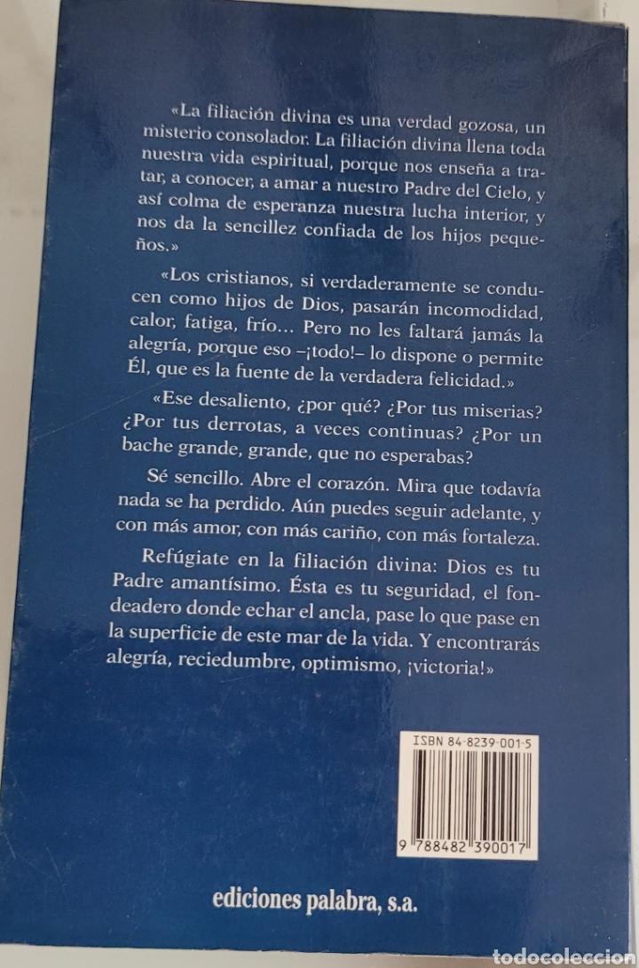 Libros: Hijos de Dios. F. Fernández carvajal. - Foto 2 - 256119875
