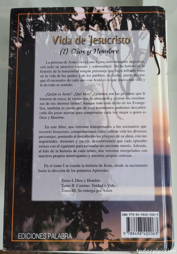 Libros: Vida de Jesucristo (1) Dios y hombre. Antonio Vazquez - Foto 2 - 257384895