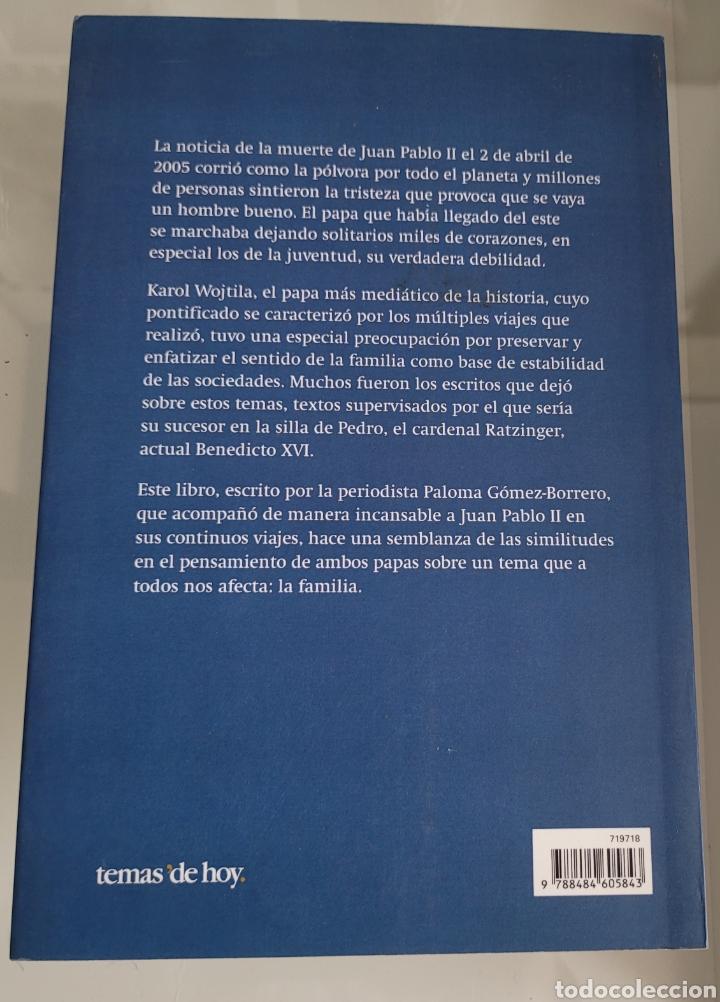 Libros: Dos papas una familia. Paloma Gómez Borrego. - Foto 2 - 257386800