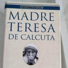 Libros: ORAR. MADRE TERESA DE CALCUTA.. Lote 257387010