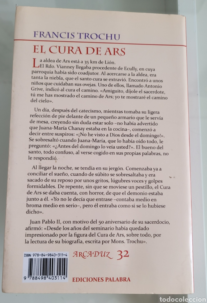 Libros: El cura de ars. Francisco Truchu - Foto 2 - 257387305