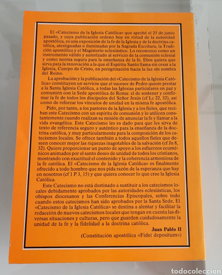 Libros: Catecismo de la iglesia católica. - Foto 2 - 257389190
