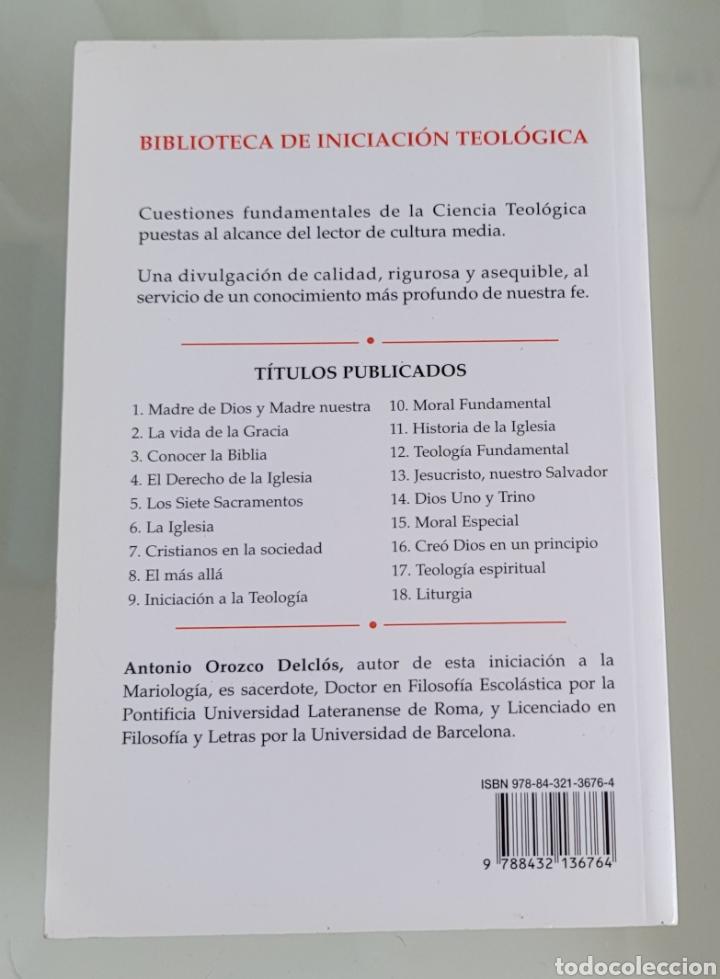 Libros: Madre de Dios y Madre nuestra. Antonio Orozco. - Foto 2 - 257392425