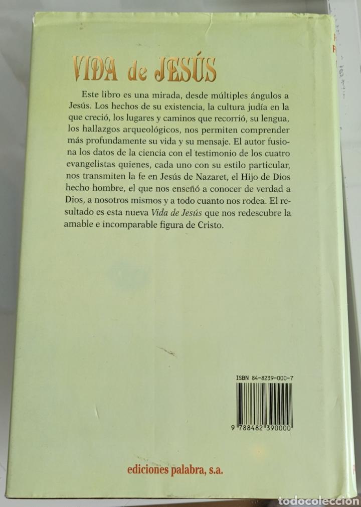 Libros: Vida de Jesús. Francisco Fernández Carvajal. - Foto 2 - 257392925