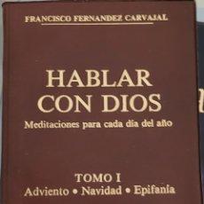 Libros: HABLAR CON DIOS TOMO I. Lote 257918460