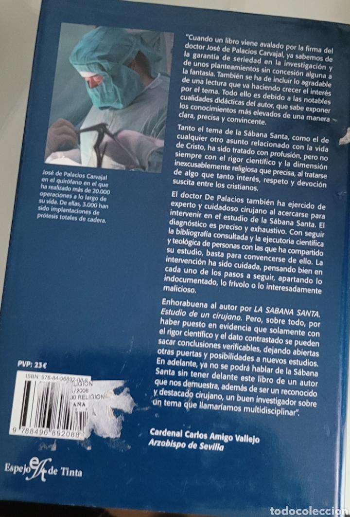 Libros: La Sabana Santa. José Palacios Carvajal. - Foto 2 - 257920535
