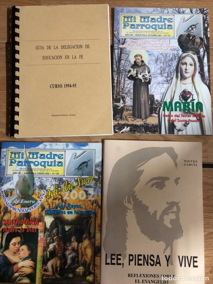 LOTE LIBROS RELIGIOSOS GUIA DE LA FE BIBLIA EVENGELIO PARROQUIA (Libros Nuevos - Humanidades - Religión)