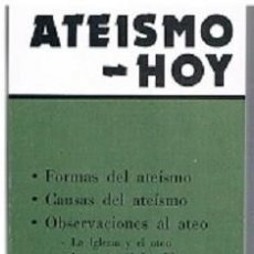 Libros: MONS. JOSÉ GUERRA CAMPOS - ATEISMO - HOY. Lote 261518420