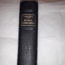 Libros: MISAL COMPLETO V MOLINA. Lote 262035355