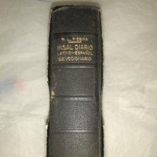 Libros: MISAL DIARIO LATINO ESPAÑOL P L RIBERA. Lote 262077600