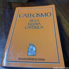 Libros: CATECISMO DE LA IGLESIA CATÓLICA 1 EDICIÓN. Lote 269327148