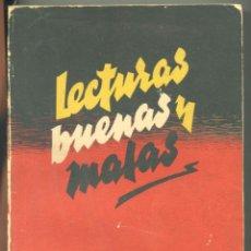 Libros: LECTURAS BUENAS Y MALAS A LA LUZ DEL DOGMA Y LA MORAL A. GARMENDIA, 1953. Lote 269445258