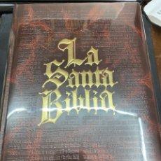 Libros: LA SANTA BIBLIA FAMILIAR ORTELLS. 1992. JUAN PABLO II. COMO NUEVA, CORCHO. VER FOTOS.. Lote 270926928