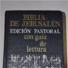 Libros: BIBLIA DE JERUSALÉN. ED. PASTORAL. Lote 272237243