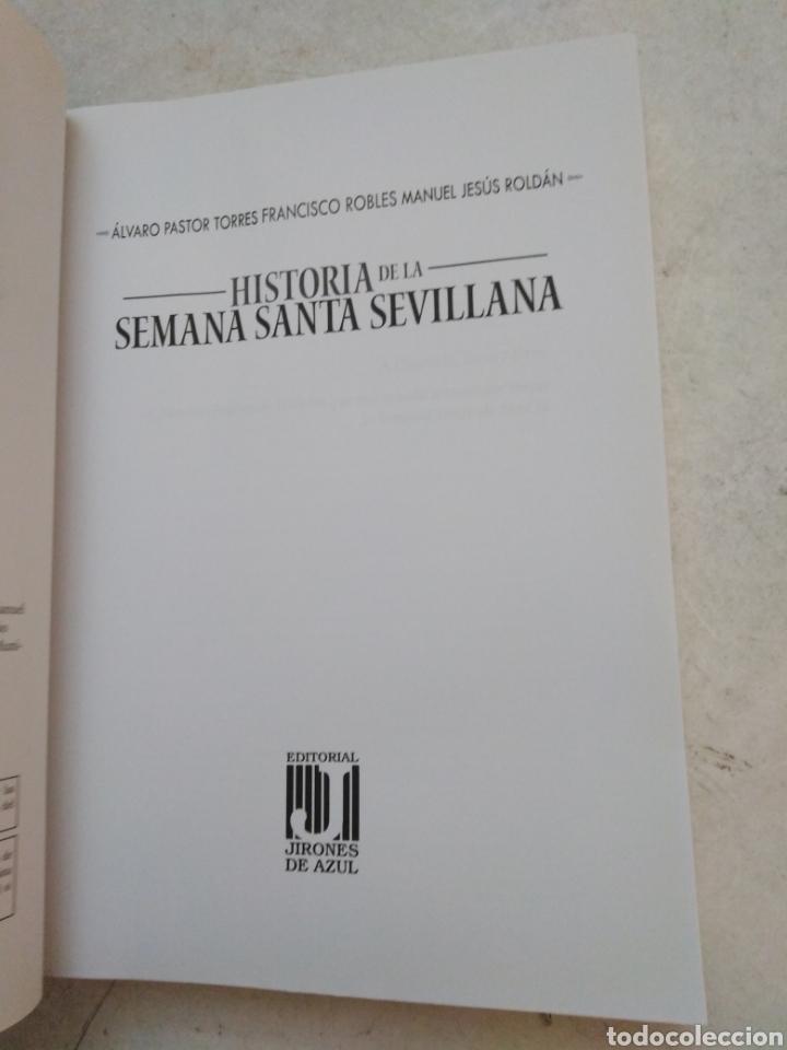 Libros: Historia de la Semana Santa Sevillana - Foto 3 - 273378118