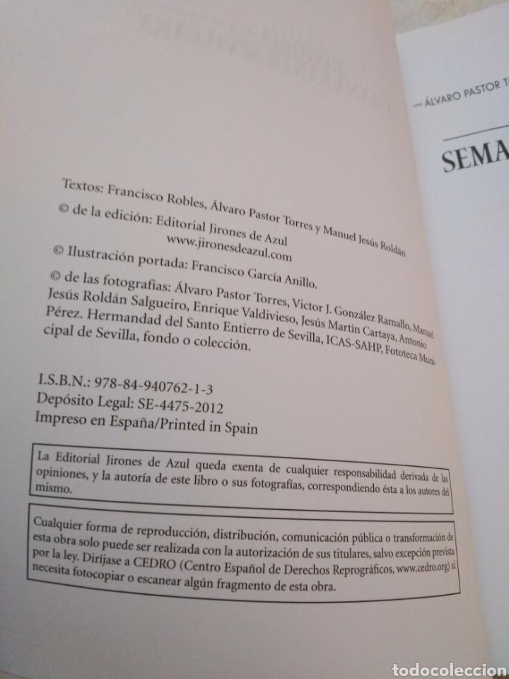 Libros: Historia de la Semana Santa Sevillana - Foto 4 - 273378118