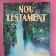 Livres: NOU TESTAMENT CLARET QUATRE RIUS. Lote 276416328
