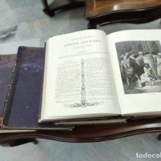 Libros: ANTIGUA BIBLIA (4 TOMOS) AÑO 1883. Lote 276795028