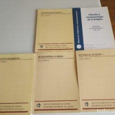 Libros: 5 LIBROS DE TEXTO NUEVOS - CIENCIAS RELIGIOSAS CURSO 1º SAN DÁMASO (LA RIOJA). Lote 277266433